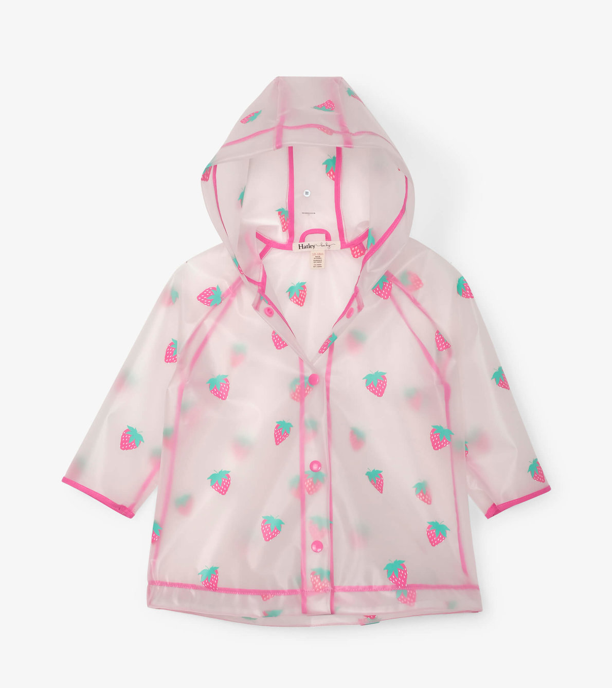 View larger image of Sweet Treats Clear Swing Baby Raincoat
