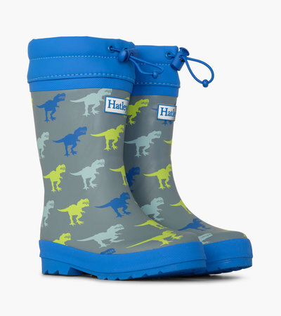 T-Rex Sherpa Lined Rain Boots