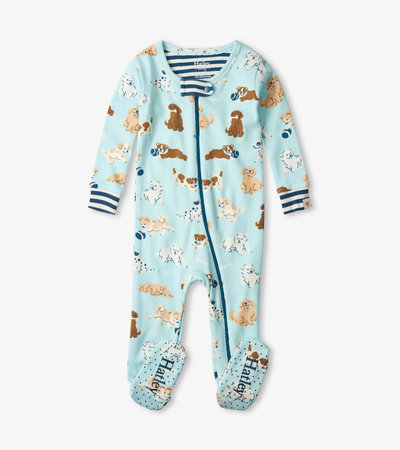 Tender Pups Organic Cotton Footed Coverall