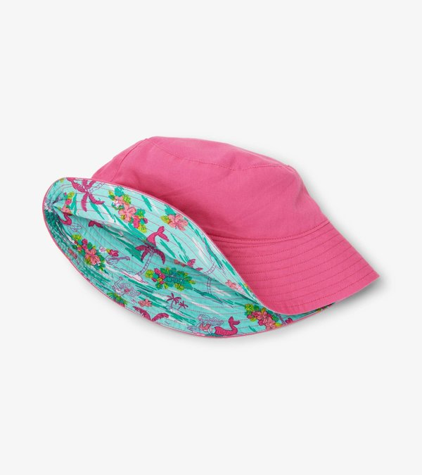 Tropical Mermaid Reversible Sun Hat