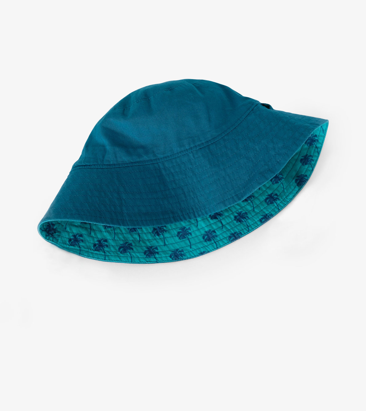 View larger image of Tropical Palms Reversible Sun Hat