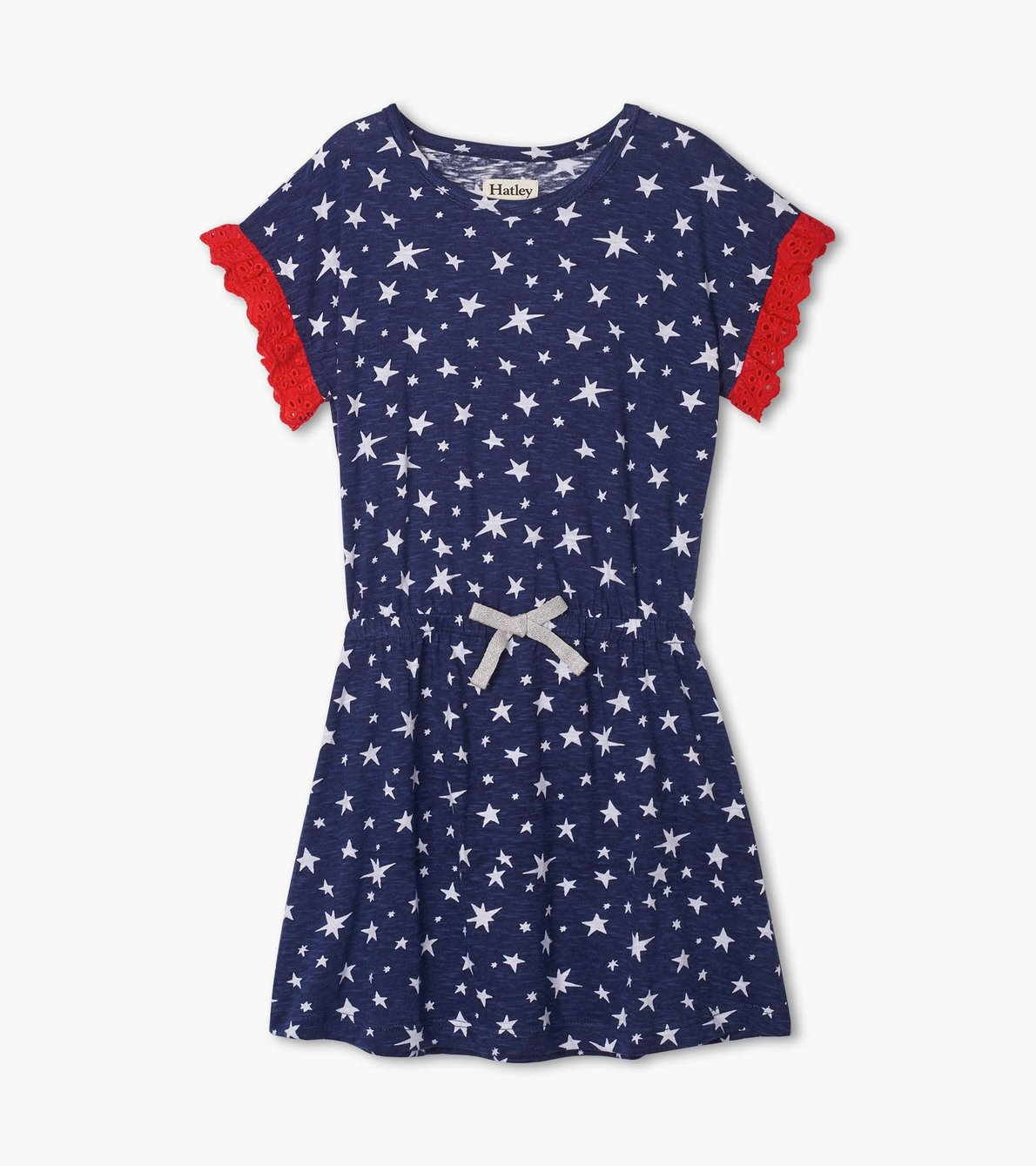 View larger image of Twinkle Stars Cinched Waist Dress