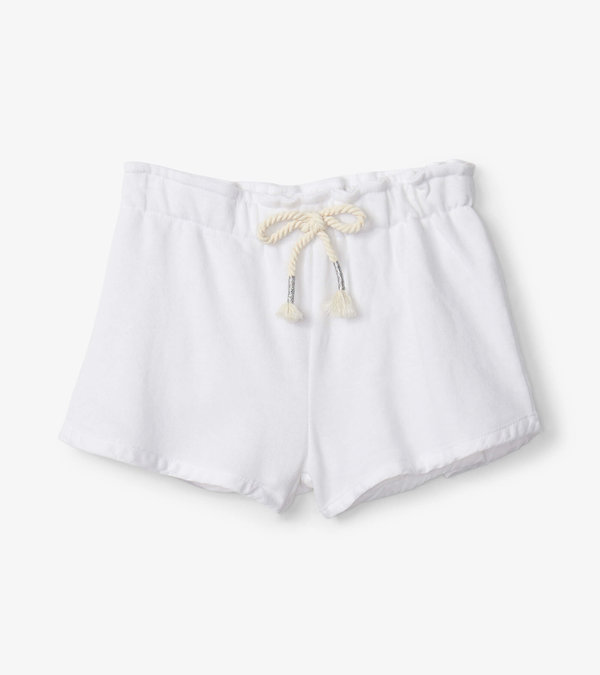 White Adventure Shorts