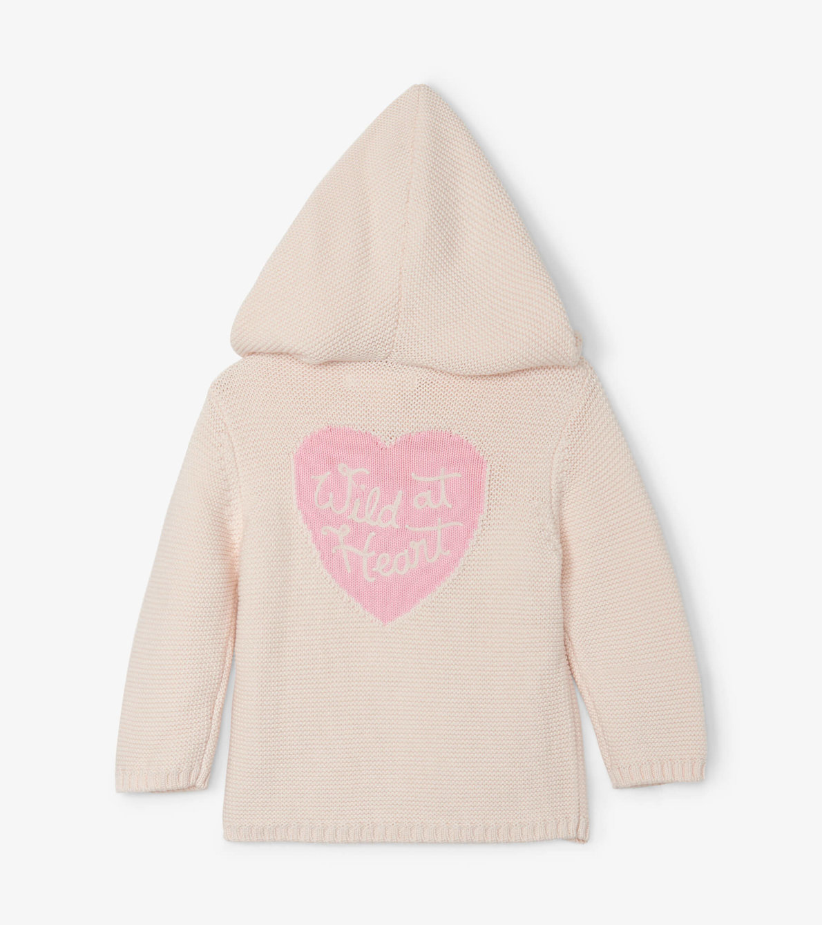 View larger image of Wild Heart Baby Hooded Sweater