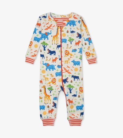 Wild Safari Organic Cotton Coverall