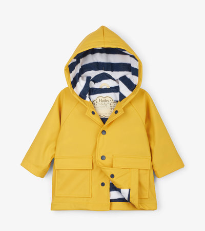 Yellow Baby Raincoat