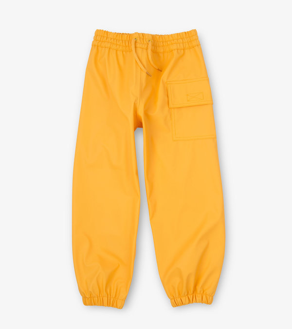 Yellow Splash Pants